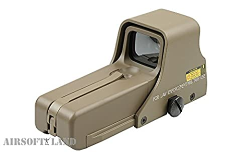 ADVANCED DOT SIGHT 552 LARGE DESERT VISEE POINT ROUGE ET