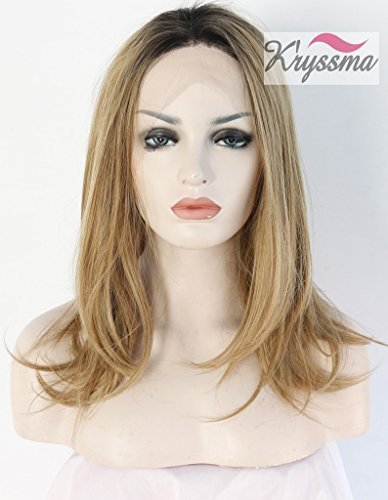 kryssma-natural-straight-parrucca-highlights-blonde-ombre-dark-roots-synthetic-hair-lace-front-wigs-
