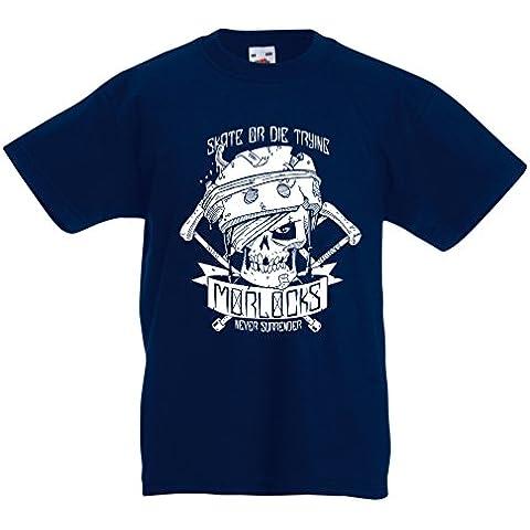 N4605K La camiseta de los niños Skate or Die Trying