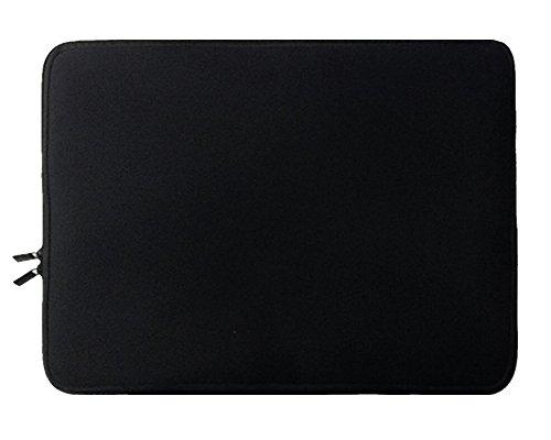 Laptopülle mit dem Reißverschluss Neopren Laptoptasche Hülle Sleeve für Ultrabook /Netbook Für Apple / ipad 10zoll Schwarz (10 Notebook Sleeve)