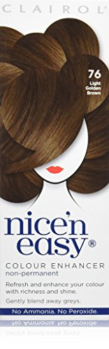 Clairol Nice'n'Easy Hair Colourant by Loving Care 76 Light Golden Brown