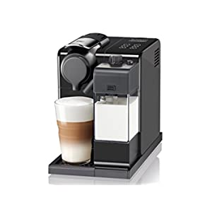 De'Longhi EN 560.B Nespresso Lattissima Touch Animation Macchina da Caffè, Plastica, Nero