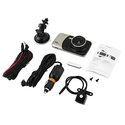 Yaoaofron Dash Cam Dual Lens Car DVR Véhicule FrontCamera Full HD 1080P 4\