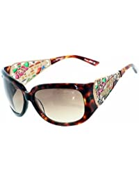 ED HARDY by Christian Audigier Exclusives Lunettes de Soleil & Etui LIBRE EHT 901 TO Love Hope