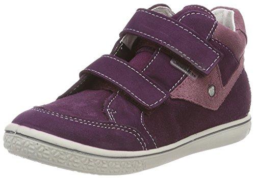 RICOSTA Mädchen KIMO Hohe Sneaker, Rot (Merlot/Sucre 360), 26 EU