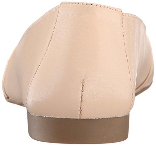 Bella Vita Owen Large Cuir Chaussure Plate Nude
