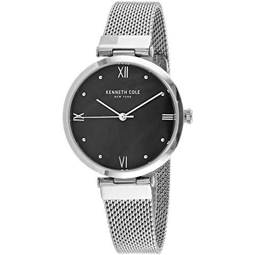 Kenneth Cole Classic Reloj de Mujer Cuarzo 33mm Correa de Acero KC50258001
