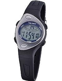 Reloj TIME FORCE de cadete/señora DIGITAL. Sumergible Crono Alarma y Luz. Caucho negro. TF-3184B01