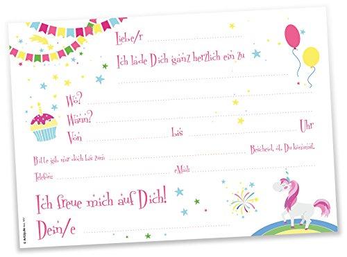 ... Geburtstagseinladungen Einladungen Geburtstag Kinder Jungen Mädchen  Einladungstext Vorlagen Karten Set · Zurück · / Next