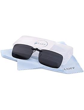 Clip polarizado unisex en gafas de sol para anteojos recetados-Buenas gafas de sol estilo clip para gafas de miopía...