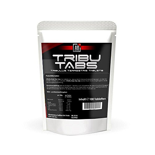 Athletics Body Tribu 3000mg pro 3 Tribulus Tabletten echte 85% Saponins Kraft + Potenz