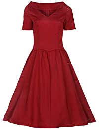 Lindy Bop 'Betsy' Vintage 1950s Rockabilly Pinup Style Swing Robe.