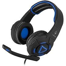 Atlantis Land Triton H747 Binaural Diadema Negro Auricular con micrófono - Auriculares con micrófono (Consola