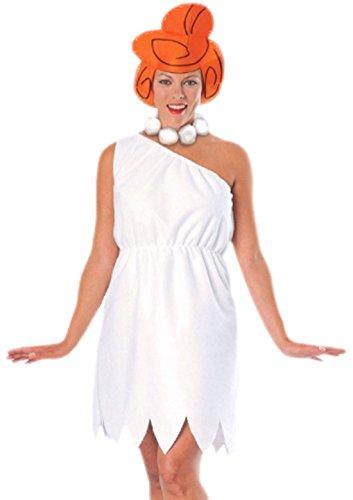 Einfache Halloween Kostüme College (Halloweenia - Damen Wilma Feuerstein Kostüm, Karneval, Fasching, M,)