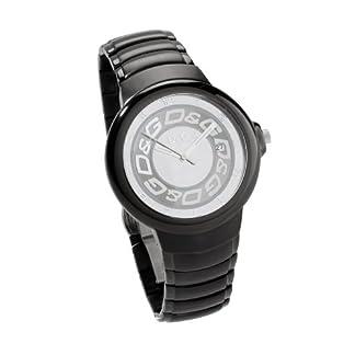 Dolce & Gabbana – Reloj de Caballero, Correa de Acero Inoxidable – Color Negro