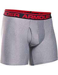 Under Armour THE ORIGINAL 6'' BOXERJOCK - Boxers para Hombre, color Gris Claro (True Gray Heather), talla XL