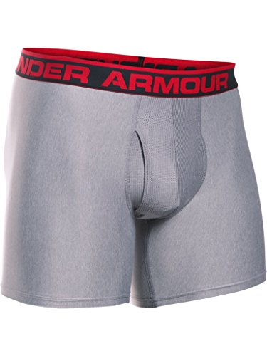 Under Armour The Original 6'' Boxerjock Ropa Interior, Hombre, Gris (025), M