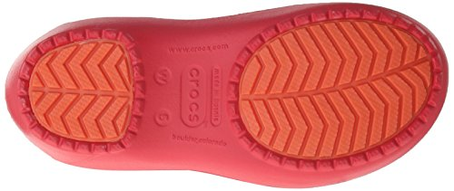 Crocs RainFloe Boot W, Stivali, Donna Rosso (Red/Red)