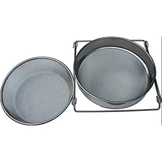 Diverse Supplier Stainless Steel Double Honey Strainer 10
