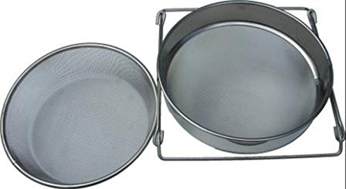 Diverse Supplier Stainless Steel Double Honey Strainer 1