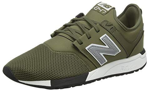New Balance Herren 247v1 Sneaker Grün (Triumph Green/Silver Op) 42.5 EU