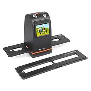SainSonic FS-12 Scanner de Diapositive 9 Méga 35mm Film Négatif et Scanner de diapositives, Film to Digital Couvertisseur pour Photos Anciennes avec 3696*2464 Résolution 2400 DPI, Support TV Out
