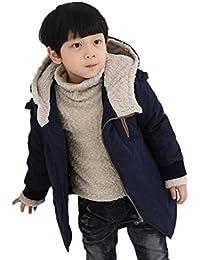 Amlaiworld Abrigo niño Otoño invierno ropa de invierno chaqueta caliente 4 Años - 9 Años