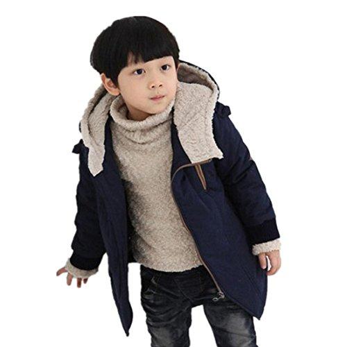 Ropa Bebé Abrigo niño Otoño Invierno Ropa de Invierno Chaqueta Caliente 4 Años - 9 Años Tamaño:7-8...