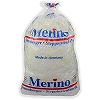 MERINO BETTEN Kopfkissenfüllung Flauschige Füllwatte für Kopfkissen aus Polyurethan-Flocken (1 Kg)
