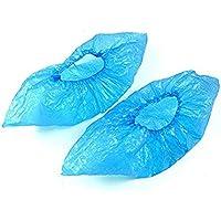 Couvre-Chaussures Jetables pour Maison, Médical ou Hotel - Bleu 100