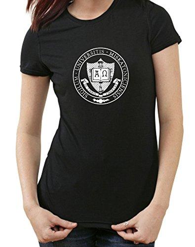 Miskatonic University Arkham, HP Lovecraft T-Shirt, XXL, Ladies schwarz