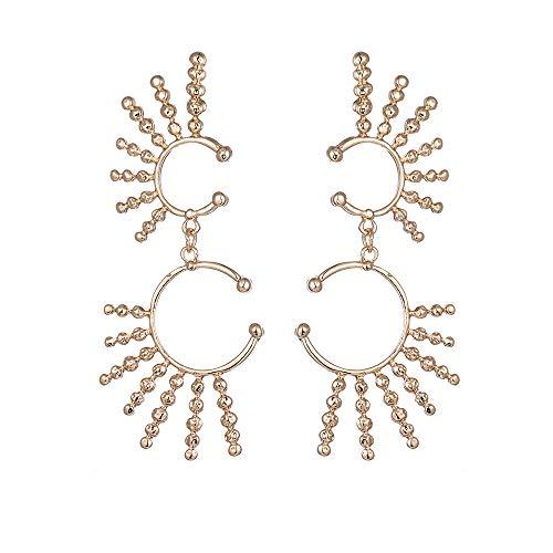 LHWY Damen Explosion Modelle verkaufen Europa und die neuen geometrischen Muster Ohrringe