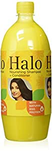 Halo Nourishing Shampoo with Natural Egg Protien, 1L