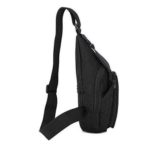 Männer Casual Outdoor-Sport Brusttasche Mann Umhängetasche Kleine Tasche Weibliche Multifunktions-Tarnung 7
