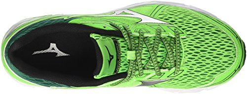 Mizuno Wave Prodigy, Chaussures de Running Homme Multicolore (Greenslime/silver/evergreen 04)