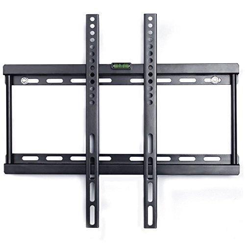 Preisvergleich Produktbild Jambo TV Wandhalterung LCD Plasmafernseher Halterung Monitorhalterung für 26-55 Zoll,  max. 50 kg,  mit VESA: max. 400 x 400mm,  Schwarz