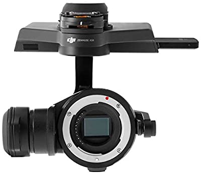"""DJI """"Official ZENMUSE X5R Part 1"""" Gimbal and Camera without Lens (White) from DJI"""