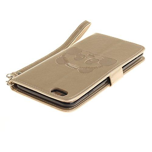 Housse de iPhone 6S cowx Étui de protection Etui en cuir pour iPhone 6S Sac 6PU Case Foto11