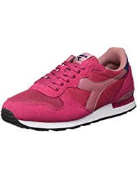 Sneakers rosa con chiusura velcro per bambini Diadora Hawk