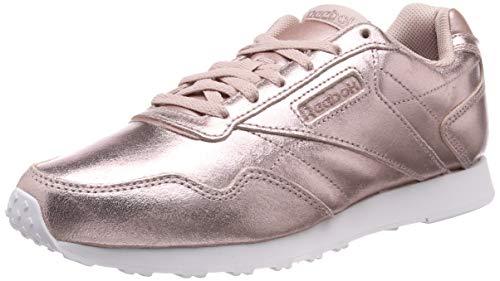 Pink Shell (Reebok Damen Royal Glide Lx Fitnessschuhe, Mehrfarbig Gold/White/Sandy Rose/Shell Pink 000, 41 EU)