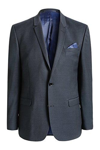 ESPRIT Collection Herren Anzugjacke noos suit blz Blau (NAVY 415)