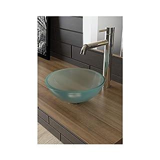 Alpenberger® ALPS® Frosted Glass Wash Basin Ø 31cm