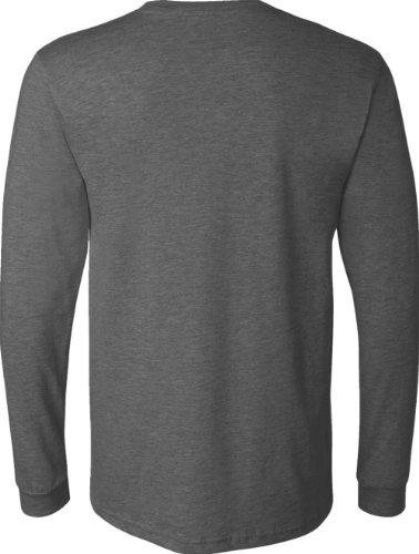 Leinwandbild Filmore-shirt Long Sleeve Crewneck 3501 grau - Dark Grey Heather