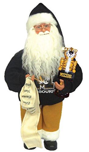 ssouri Santa mit Maskottchen Figur,, bunte 30,5cm (Santa Maskottchen)