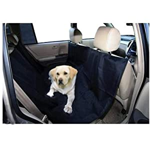 Universal Car Hammock Pet Dog Cat Back Seat Cover Protection from FlamingoFace