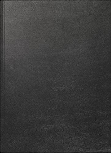 Baier & Schneider Taschenkalender Buchkalender A 4, 1 Seite = 1 Tag, 210 x 297 mm, Balacron, schwa