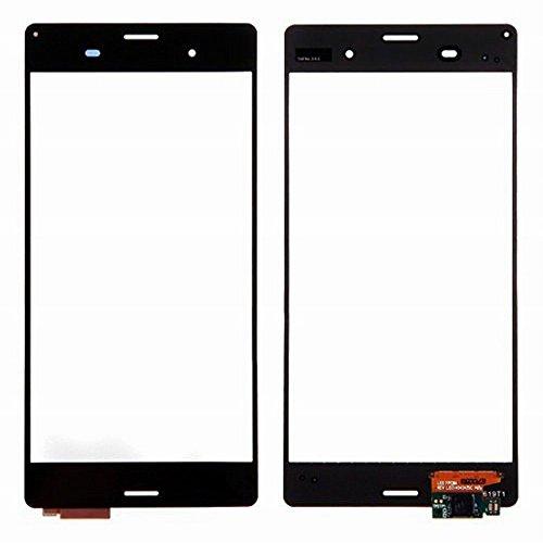 WeDone pour Sony Xperia Z3 D6603 D6653 L55T Remplacement d'Ecran Vitre Tactile (Noir)