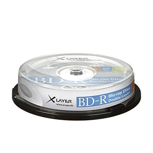 Xlayer 207462Festplatte Schurwolle Blu-ray-Scheiben Jungfrauen Ray (Keksdose)