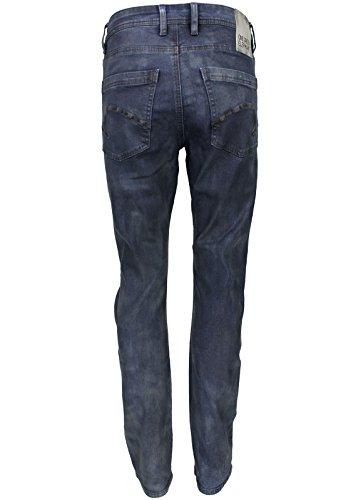 One Green Elephant Damen Straight Fit Jeans Schwarz/Blau