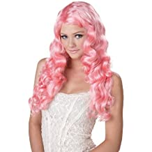 Sweet Tart Wig (Pink) Adult Accessory